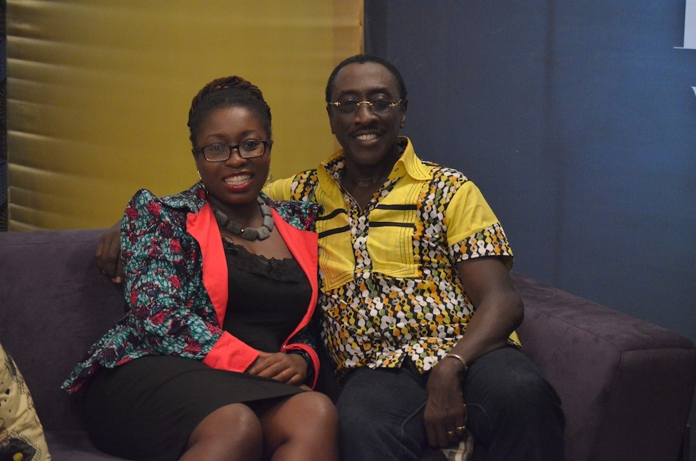 Nana Darkoa (left) with KSM