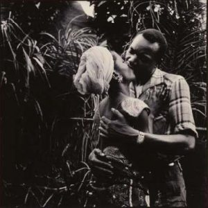 Africans kissing