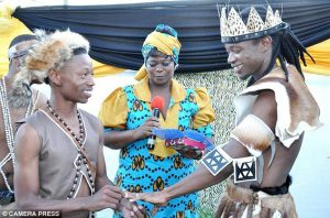 zulu homoosexual wedding