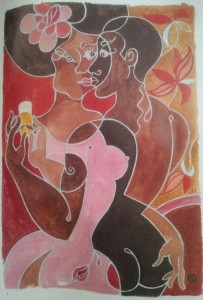 Africa Hot cover art © Erotic Review Books.