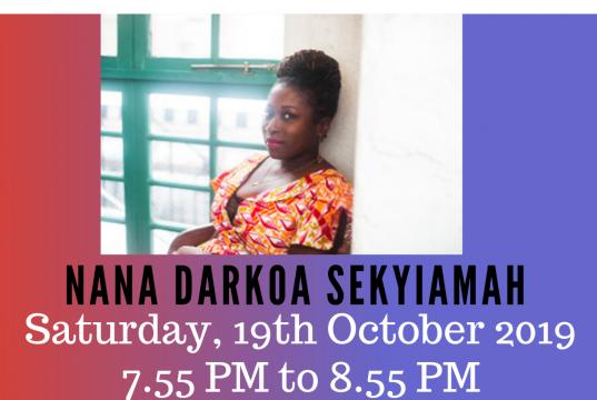A flyer promoting Nana Darkoa's participation at PaGya