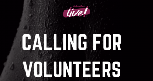 call for adventures live! festival volunteers